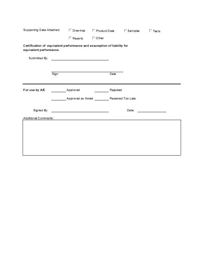 Substitution Request Form  Cms